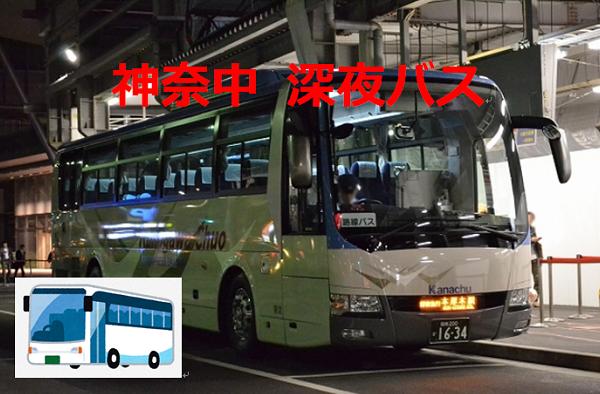 神奈中深夜バスの御案内