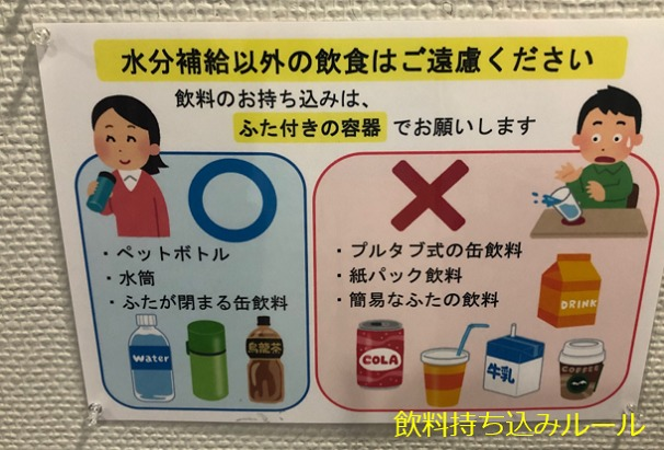 横浜市図書館 飲料持込ルール