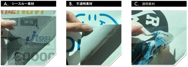 マイカースポンサー ステッカー素材画像