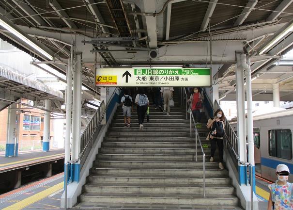 小田急線藤沢駅JR乗換口