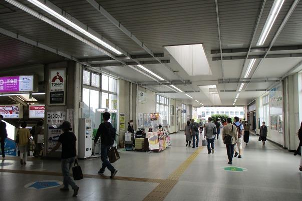 藤沢駅南口通路