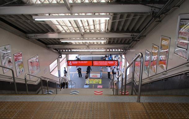 JR東海道線ホーム