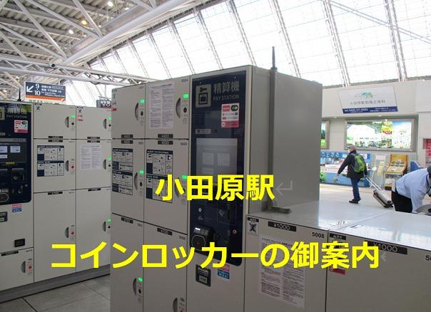 小田原駅コインロッカー案内