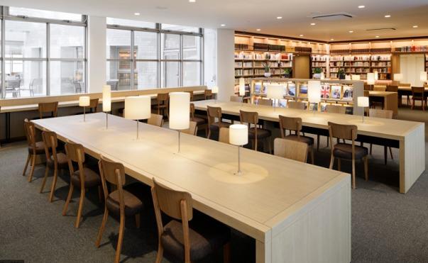 海老名中央図書館学習室⑤