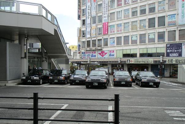 小田原駅東口 タクシープール