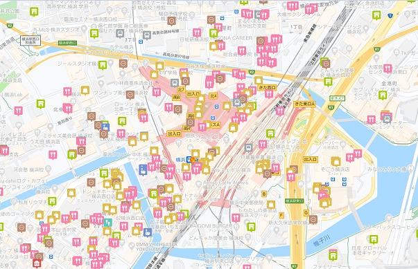 横浜駅周辺で利用できるGO TO 地域クーポン券