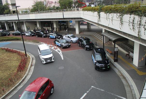 新百合ヶ丘駅(南口)タクシー乗り場