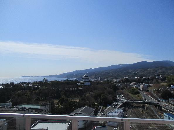 ミナカ小田原 14Fからの風景