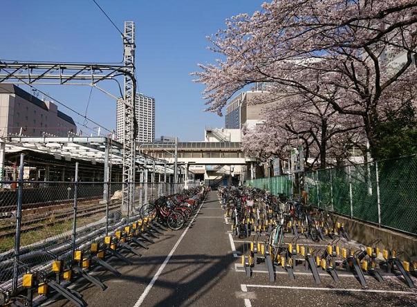 Parking in 川崎駅東口駐輪場