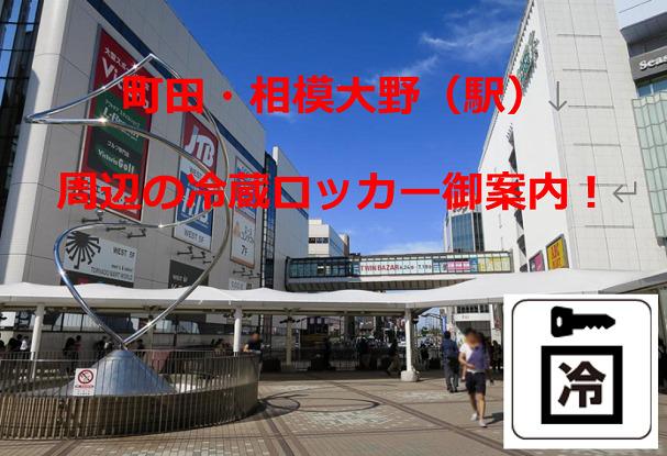 町田・相模大野(駅)周辺の冷蔵ロッカー