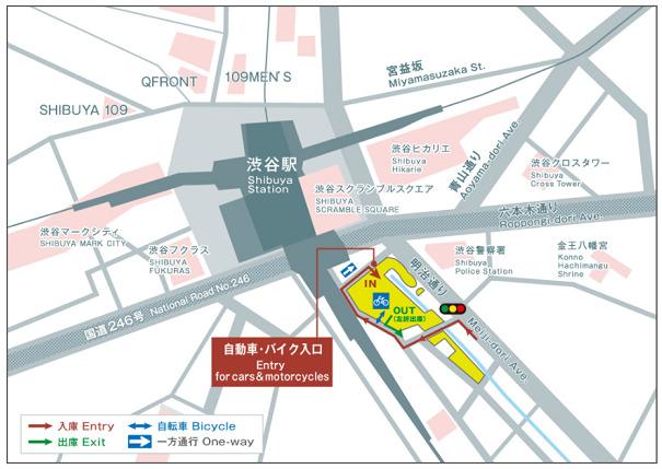 渋谷ストリーム駐車場