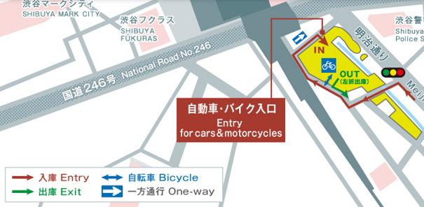 渋谷ストリーム バイク・自転車駐車場